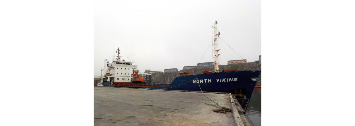 ESANI A/S tests cargo ship  - First collection of waste from Tasiilaq